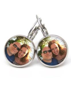 Ohrhänger mit Foto Bild personalisiert