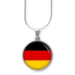 Kette deutsche Flagge Fahne Fußball EM WM