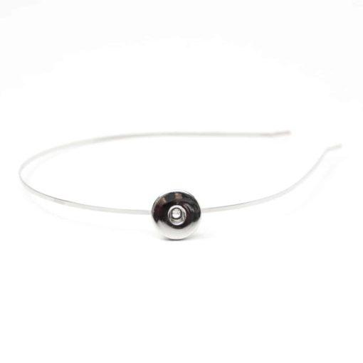 Druckknopf Haarreifen für 16mm Druckknopf