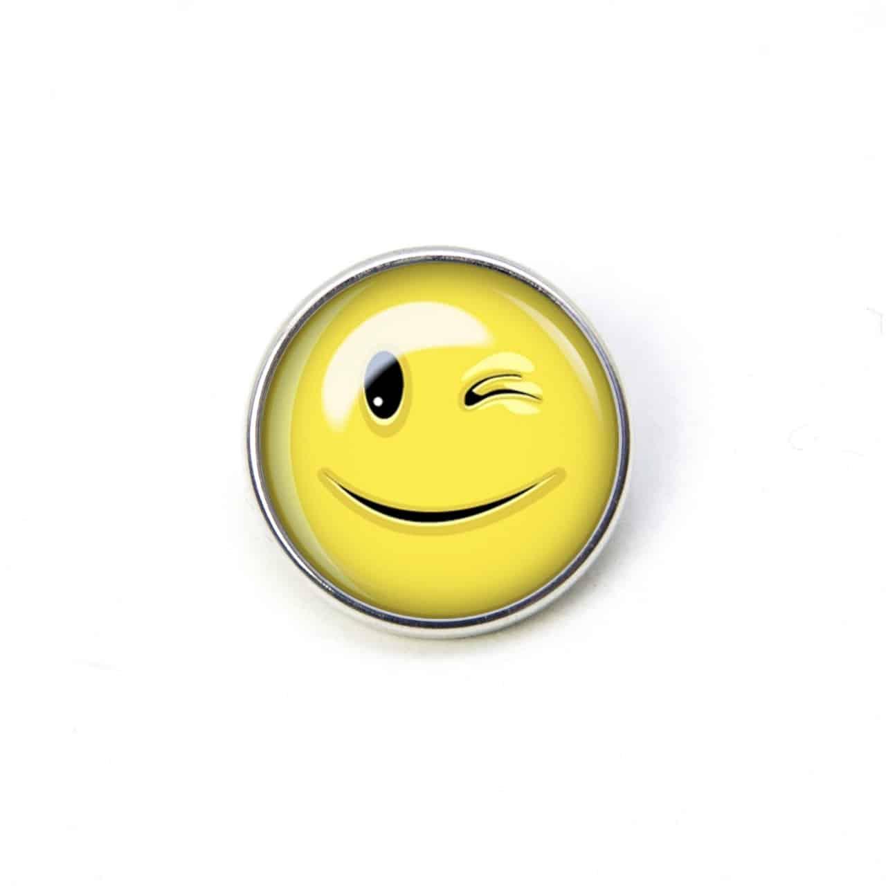 Zwinkernder was smiley bedeutet Der Zwinker