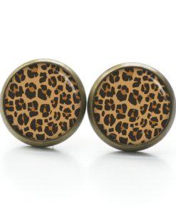 Ohrstecker Leopard