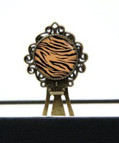 Druckknopf / Ohrstecker / Ohrhänger  Leoparden Muster