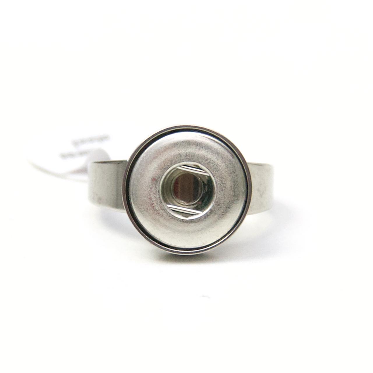 Druckknopf Ring Edelstahl für 10mm Druckknopf