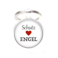 Schlüsselanhänger Schutzengel - Herz Engel