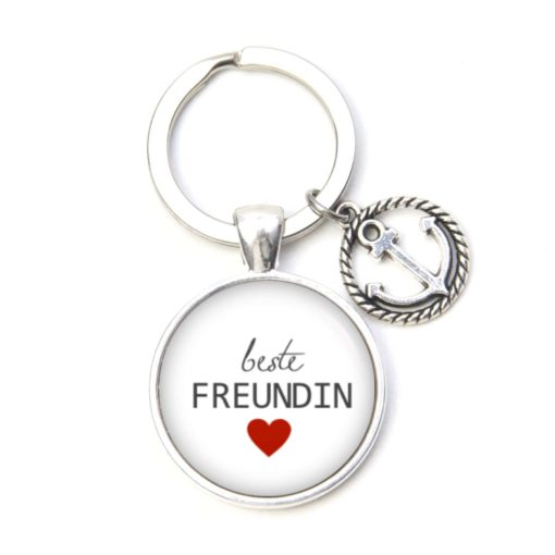 Schlüsselanhänger beste Freundin liebste Freundin - Herz Lieblingsmensch