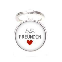 Schlüsselanhänger liebste Freundin beste Freundin - Herz Lieblingsmensch