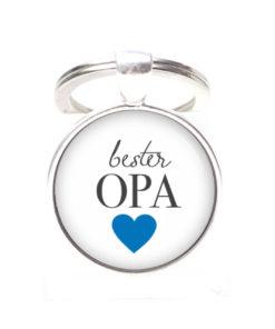 Schlüsselanhänger bester Opa liebster Opa - Herz Lieblingsmensch