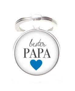 Schlüsselanhänger bester Papa liebster Papa - Herz Lieblingsmensch