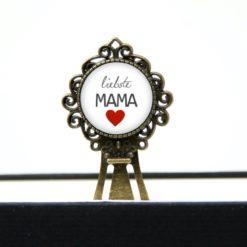 Lesezeichen Klammer liebste Mama Geschenk zum Muttertag