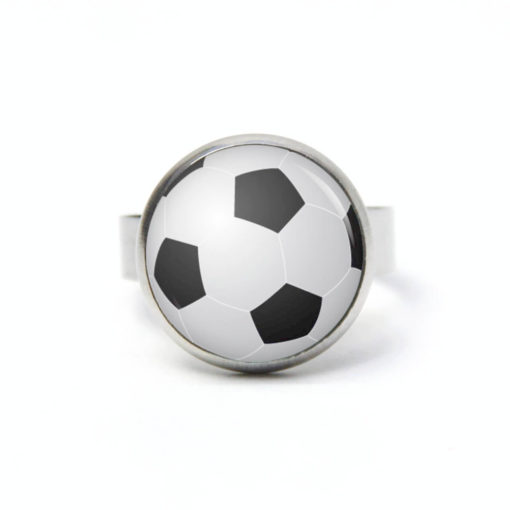 Edelstahl Ring Fußball EM WM - verschiedene Größen
