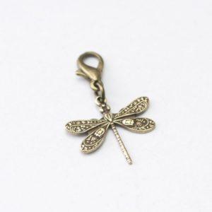 Charm Anhänger Taschenanhänger Libelle
