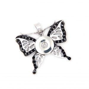 Druckknopf Anhänger Schmetterling für 16mm Druckknopf