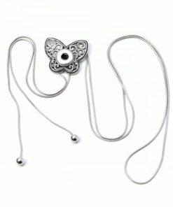 Verstellbare Y-Kette Schmetterling für 10mm mini Druckknopf