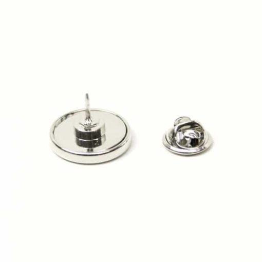 Druckknopf Anstecknadel / Brosche für 16mm Druckknöpfe