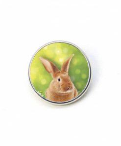 Druckknopf Hase Kaninchen Ostern Osterhase