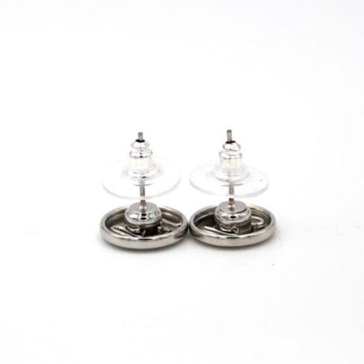 Druckknopf Ohrstecker für 10mm Mini Druckknopf