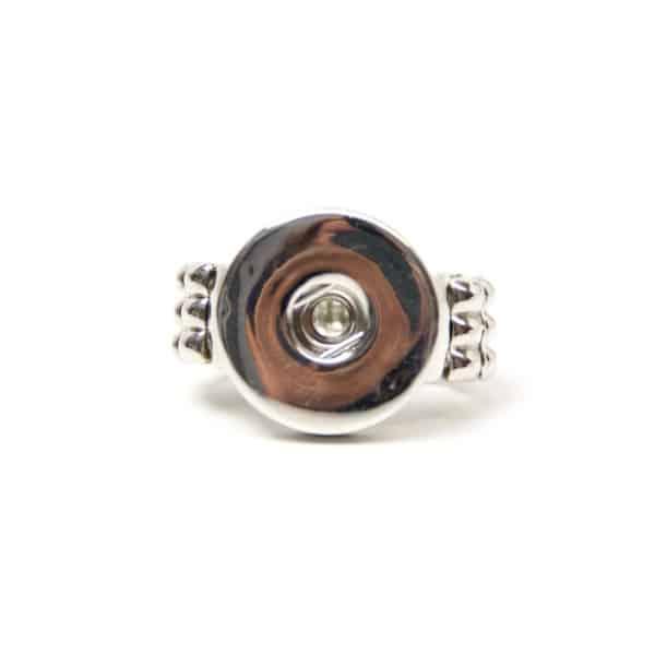 Klassischer Druckknopf Ring für 16mm Druckknopf