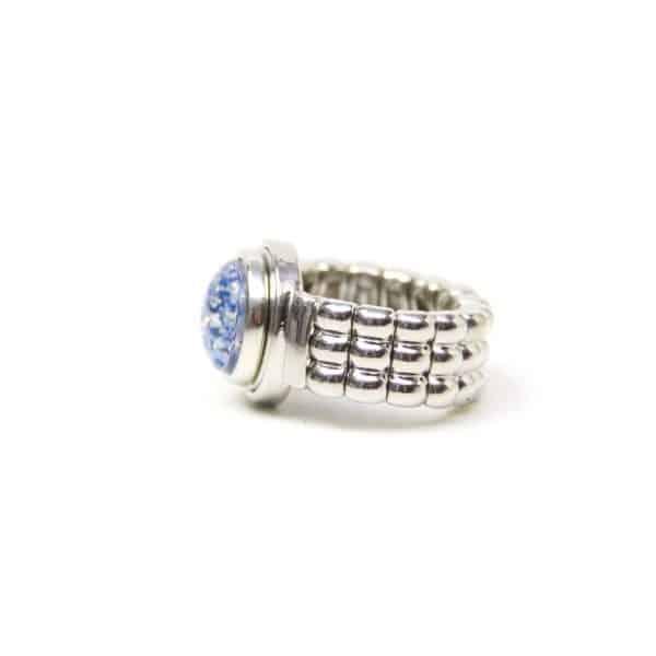 Klassischer Druckknopf Ring für 10mm Druckknopf