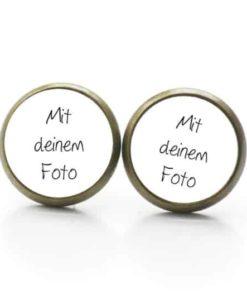 Set Kette + Ohrringe mit deinem Foto