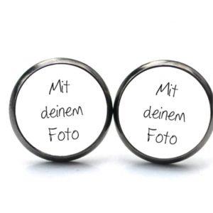 Ohrstecker / Ohrhänger mit eigenem Foto