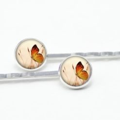 Haarspangen Schmetterling auf der Wiese