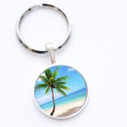 Schlüsselanhänger Palme