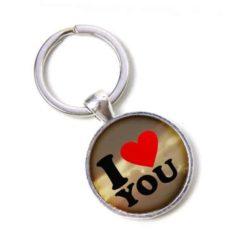 Schlüsselanhänger I love you Ich liebe dich Valentinstag