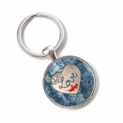 Schlüsselanhänger Love Liebesbrief maritim Herz Valentinstag