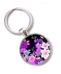 Schlüsselanhänger Blumenmeer
