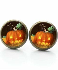 Ohrstecker / Ohrhänger Halloween Kürbis
