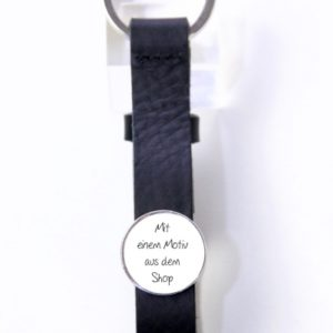 Schlüsselanhänger Leder mit beliebigem Motiv aus dem Shop