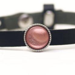 Schiebeperle rosa glänzende Polaris Perle