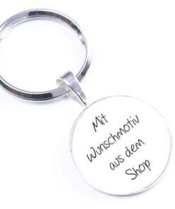 Schlüsselanhänger mit beliebigem Motiv aus dem Shop