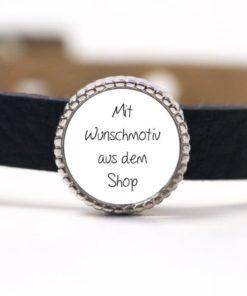 1 Schiebe Perle mit deinem Wunschmotiv aus meinem Shop