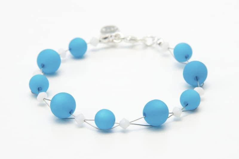 Perlen Armband Türkis
