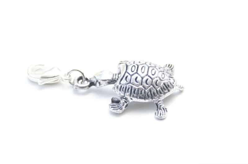 Charm Anhänger Taschenanhänger kleine Schildkröte