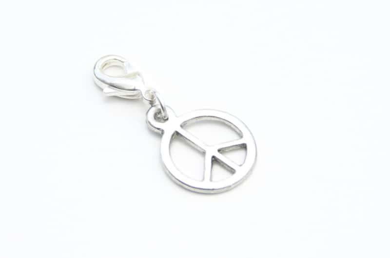Charm Anhänger Taschenanhänger Peace