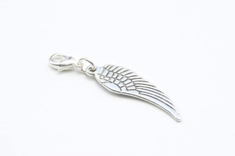 Charm Anhänger Taschenanhänger Flügel