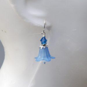 Ohrringe Glockenblume