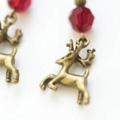 Weihnachtliche Ohrhänger Reindeer