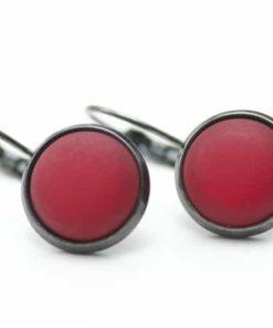 Rote Polaris Creolen