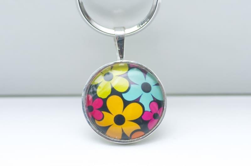 Schlüsselanhänger Hippie Flower