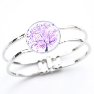 Armreifen violetter Baum