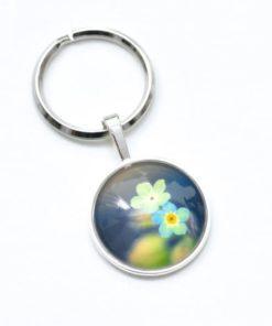 Schlüsselanhänger zarte Blüten