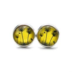 Ohrstecker / Ohrhänger Pusteblume - große Farbauswahl